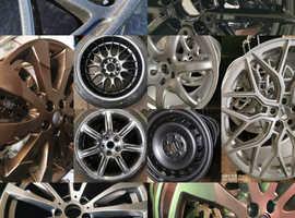 Alloy wheel refurbs/straightening/welding