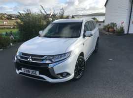 Mitsubishi Outlander, 2018 (18) White Estate, Cvt , 14,882 miles