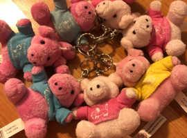 Pig key rings