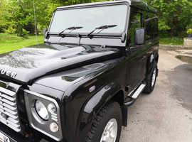 Land Rover DEFENDER 90, 2014 (64) Black 4x4, Manual Diesel, 30,600 miles