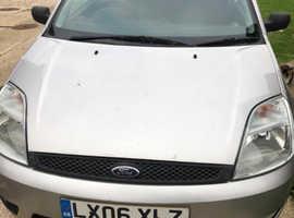 Ford Fiesta, 2006 (06) Silver Hatchback, Manual Petrol, 41,000 miles