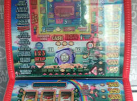 Have fun playing this Rainbow Riches fruit machine which we are selling