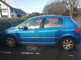 Peugeot 307, 2003 (03) blue, Diesel, sensible offers