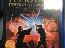 Star Wars Episode 3 PS2 Game