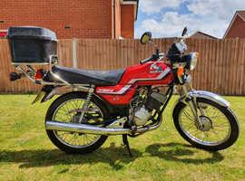 Classic Honda H100S-J Motorcycle