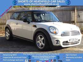 2009 Mini Cooper 1.6 D Diesel (Pepper/Salt) + Panoramic Roof - 3 Dr HB