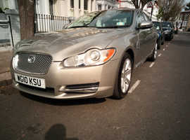 Jaguar Xf, 2010 (10) Gold Saloon, Automatic Diesel, 79,000 miles