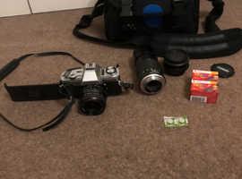 Minolta XLR 35mm camera bundle