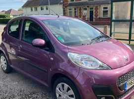 Peugeot 107, 2013 (63) Purple Hatchback, Manual Petrol, 55,000 miles