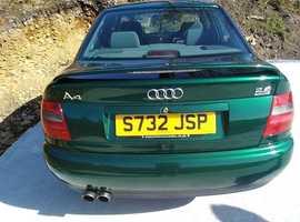 Audi A4, 1998 (S) Green Saloon, Manual Petrol, 70,380 miles