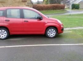 Fiat Panda, 2013 (13) Red Hatchback, Manual Petrol, 54,000 miles