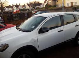 Nissan Qashqai, 2011 (60) White Hatchback, Manual Petrol, 113,000 miles