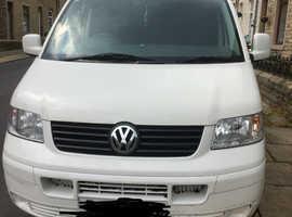 VW t5 transporter camper van