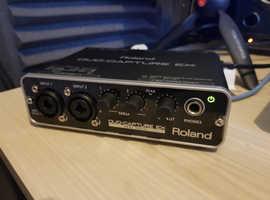 Roland Duo capture EX USB Audio interface
