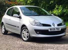Renault Clio, 2006 (56), Manual Petrol, 67,000 miles