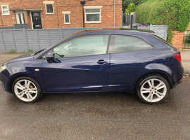 Seat Ibiza, 2009 (09) Blue Hatchback, Manual Petrol, 120,216 miles