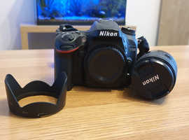 Nikon D7200 Camera, includes 18-55mm Lens, Cokin Kits, CPL Filter + Extras