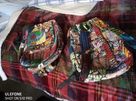 Malawian Made Material Ladies bags x 2