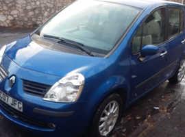 Renault Modus, 2007 (07) Blue Hatchback, Automatic Petrol, 80,000 miles