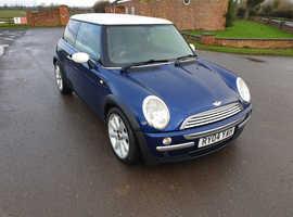 Mini MINI, 2004 (04) Blue Hatchback, Manual Petrol, 87,205 miles