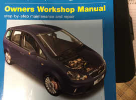 C max manual by Haynes covering petrol and diesel 2003 tom2010 very clean condition