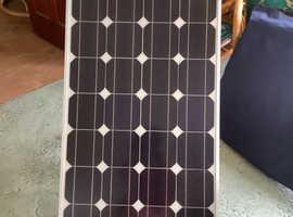 Solar panel for motorhome caravan van etc