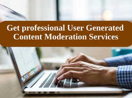 Get professional User Generated Content Moderation Services