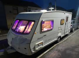 Ace Award Morningstar 4 berth family caravan
