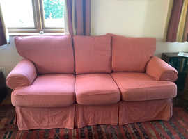 Comfy 3 seater sofa with spare set covers