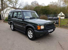 Land Rover Discovery, 1999 (T) Green Estate, Manual Diesel, 98,000 miles