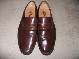 Pair of mens brown shoes