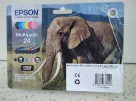 Brand new multpack of Epson ink cartridges