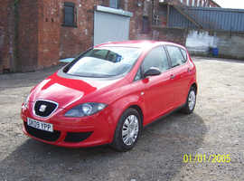Seat Altea, 2009 (09) Red Hatchback, Manual Petrol, 89,000 miles
