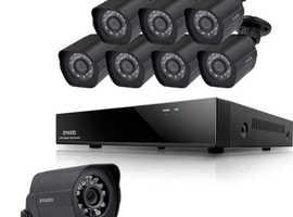 CCTV Camera and Security Alarm System Installation/Maintenance