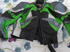 MOTORCYCLE LEATHERS 2 PIECE FULL ZIP