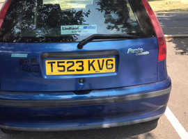 Fiat Punto, 1999 (T) Blue Hatchback, Cvt Petrol, 23,000 miles