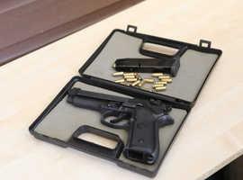 Beretta 92 Style Blank Firing 8mm pistol