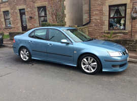 Saab 9-3, 2007 (07) Blue Saloon, Manual Petrol, 84,000 miles