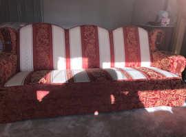 Convertible sofa bed set of 2