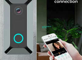 Wireless WiFi Video Doorbell Smart Phone Door Ring Intercom Camera Bell Security £38.00