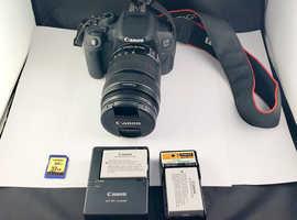 Canon 700D 18.0MP Digital SLR Camera - (Kit w/ EF-S 18-135mm IS STM) + Extras