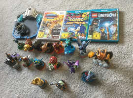 Nintendo wii games with skylanders