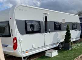 Hobby 695 vip caravan for sale