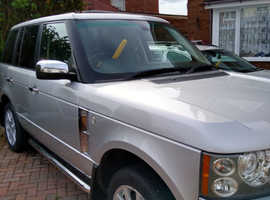 Land Rover  Range Rover 2006 (06) Silver Estate, Manual Diesel, 132,000 miles