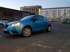Seat Ibiza, 2016 (16) Blue Hatchback, Manual Petrol, 16,780 miles