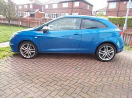 Seat Ibiza, 2011 (11) Blue Hatchback, Semi auto Petrol, 76,200 miles