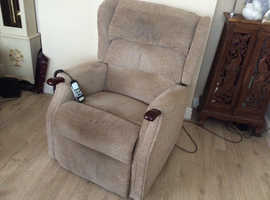 Reclining chair purchased from Mobility Shop.