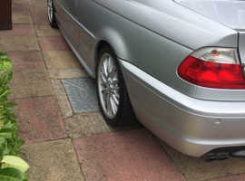 BMW 3 Series, 2001 (Y) Silver Coupe, Manual Petrol, 163,786 miles