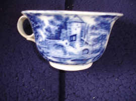 Antique appears to be delfware with no markings as this era.
