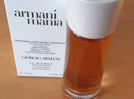 Armani Mania 75ml - Brand New